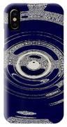 Blue Motion IPhone Case
