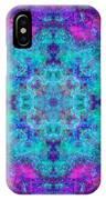 Blue Opal Rainbow Mandala IPhone Case