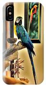On The Perch IPhone Case