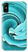 Blue Peony IPhone Case