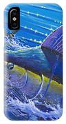 Blue Persuader  IPhone Case