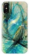 Blue Phoenix IPhone Case
