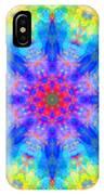 Blue Rainbow Star Mandala IPhone Case