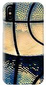 Blue Basketball IPhone Case