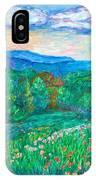 Blue Ridge Meadow IPhone Case