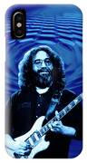 Blue Ripple From A Red Rose IPhone Case