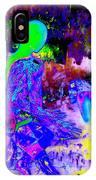 Blue Rock 'n' Roll IPhone Case