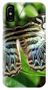 Blue Sea Butterfly IPhone Case