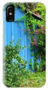 Blue Shed II IPhone Case