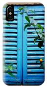 Blue Shuttered Window IPhone Case
