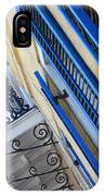 Blue Shutters In New Orleans IPhone Case