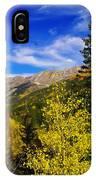 Blue Skies In Colorado IPhone Case