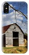 Blue Skies Red Roof IPhone Case