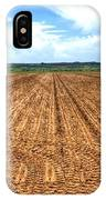 Blue Sky And Field 14567 IPhone Case