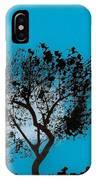 Blue Sky Moon IPhone Case