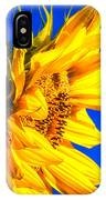 Blue Sky Sunshine Sunflower IPhone Case