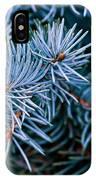 Blue Spruce IPhone Case