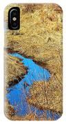 Blue Stream IPhone Case