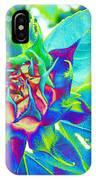 Blue Sunflower IPhone Case