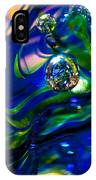 Blue Swirls IPhone Case