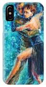 Blue Tango 2 IPhone Case