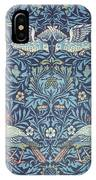 Blue Tapestry IPhone Case