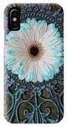 Blue Tipped Flower IPhone Case