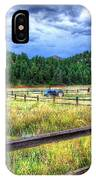 Blue Tractor Deckers Colorado IPhone Case