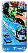 Blue Trolley Portland IPhone Case