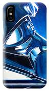Blue Vader IPhone Case