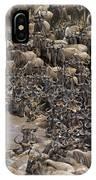 Blue Wildebeest Migration IPhone Case