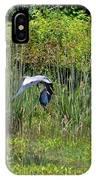 Blue Winged Heron 2013 IPhone Case
