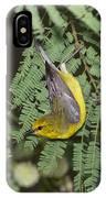Blue-winged Warbler IPhone Case