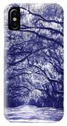Blue World In Savannah IPhone Case