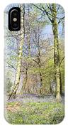 Bluebell Time In England IPhone Case
