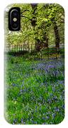 Bluebell Way IPhone Case