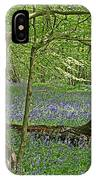 Bluebell Wood 1 IPhone Case