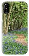 Bluebell Wood 3 IPhone Case