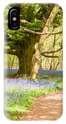 Bluebell Woods IPhone X Case