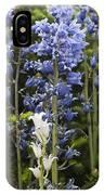 Bluebells 8 IPhone Case