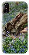 Bluebells At Bransdale IPhone Case