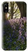 Bluebells Backlit IPhone Case