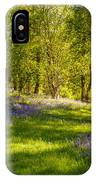 Bluebells IPhone Case