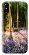 Bluebells In Shadows IPhone Case