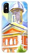 Blueberry Courthouse IPhone Case