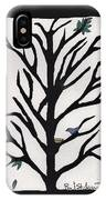 Bluebird In A Pear Tree IPhone Case