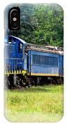 Bluebird Train IPhone Case