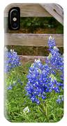 Bluebonnet Gate IPhone Case