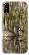 Bluewing Teal IPhone Case