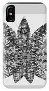 Bnw Black N White Star Ufo Art  Sprinkled Crystal Stone Graphic Decorations Navinjoshi  Rights Manag IPhone Case